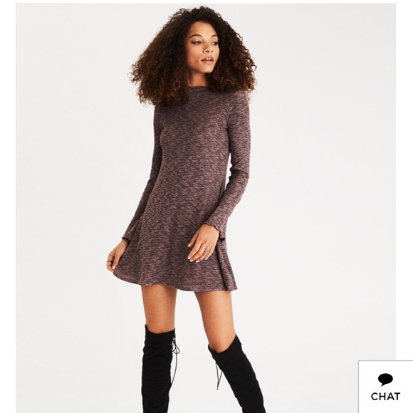 American Eagle Outfitters Dresses Black Sweater Dress From